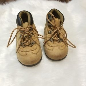 Thom McAn baby boy boots leather size 4.5
